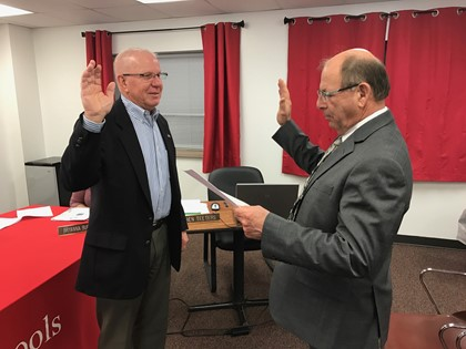 Swearing In of Board Member